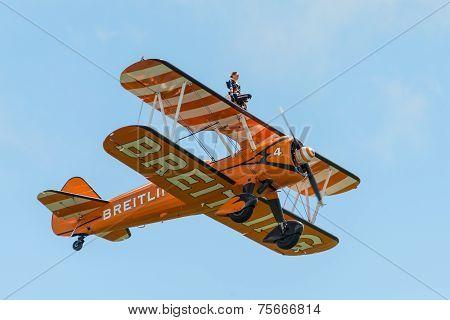Breitling Wing Walkers Display Team