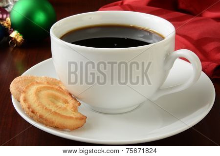 Christmas Coffee And Cookies