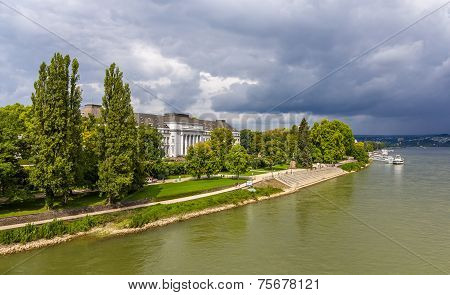 Electoral Palace In Koblenz, Germany