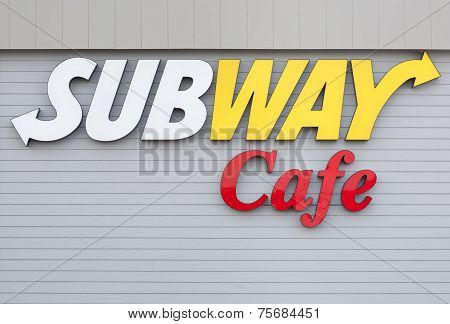 Subway Cafe Sign