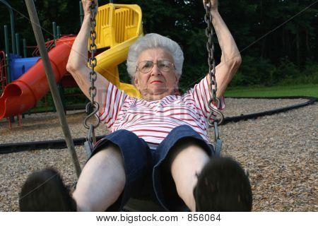 Swinging Grandmother 11