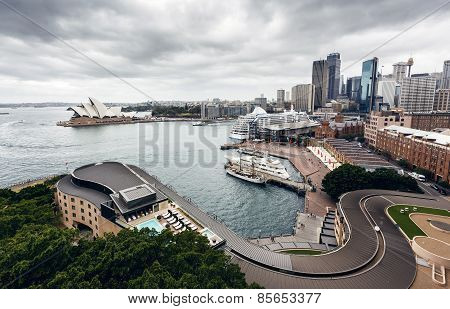 View of Sydney Harbour