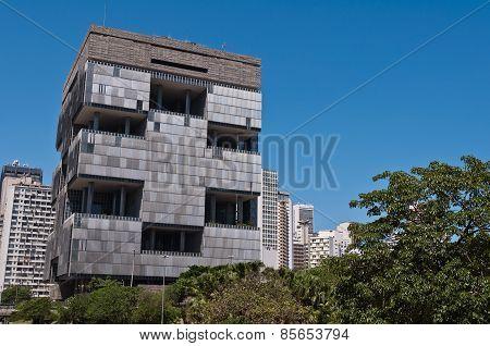 Petrobras Headquarters Building in downtown Rio de Janeiro, Brazil
