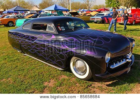 Customized 1951 Mercury Coupe