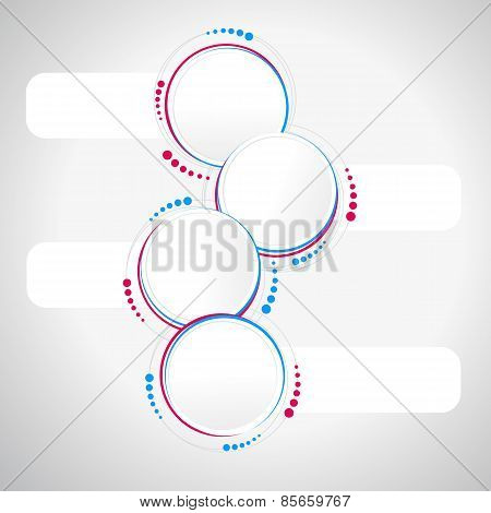 Abstract Circle Template - Infographics, Banner, Print