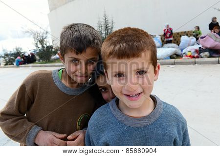 Portraits of syrian refugees in Turkey