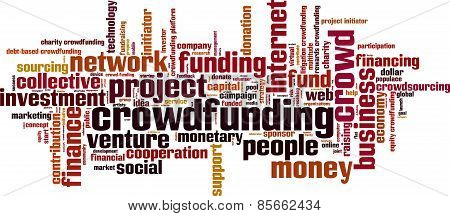 Crowdfunding Word Cloud