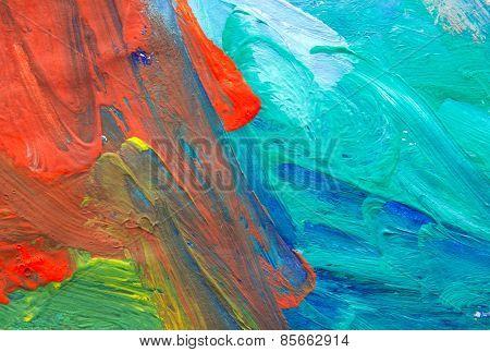 Abstract Child Art