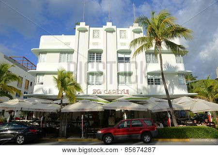 Art Deco Style Carlyle in Miami Beach