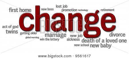 Cambios en la vida