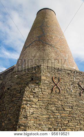 Wide Then Tapering Chimney - Malt Kiln.