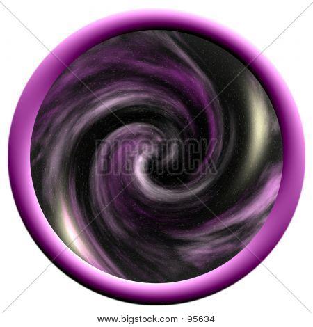 Large Purple Space Button