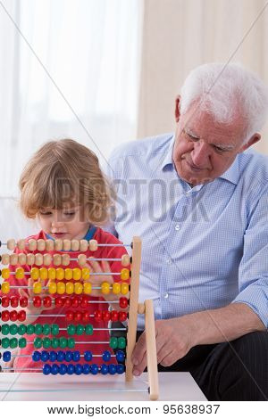 Learning Math On Abacus