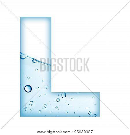 Water Alphabet