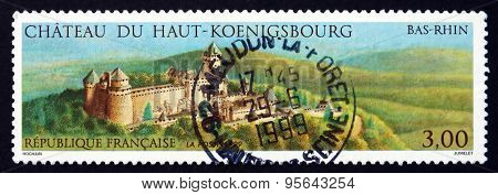 Postage Stamp France 1999 Haut-koenigsbourg Castle