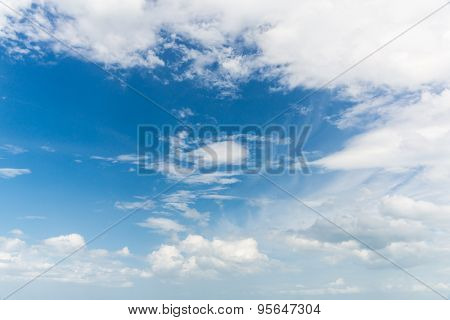 Cloud On The Sky