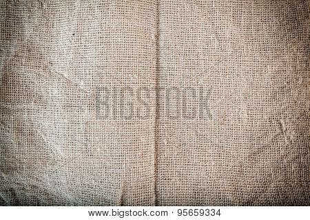 Texture of Sackcloth