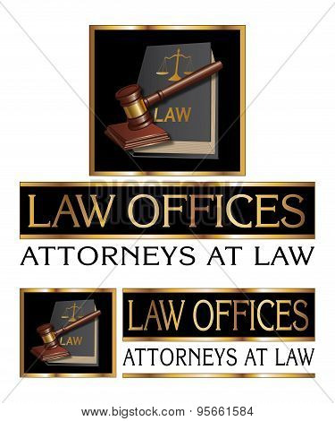 Law Firm Design With Gavel