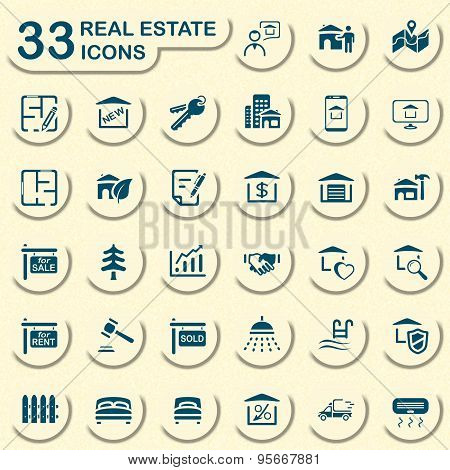 Jeans real estate icons
