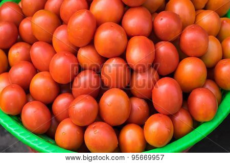 Tomato Sell At The Local Market