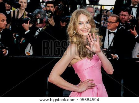 Svetlana Khodchenkova attends the 'Carol' premiere during the 68th annual Cannes Film Festival on May 17, 2015 in Cannes, France.