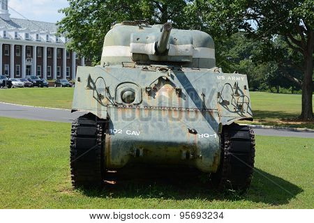 Old Army Tank