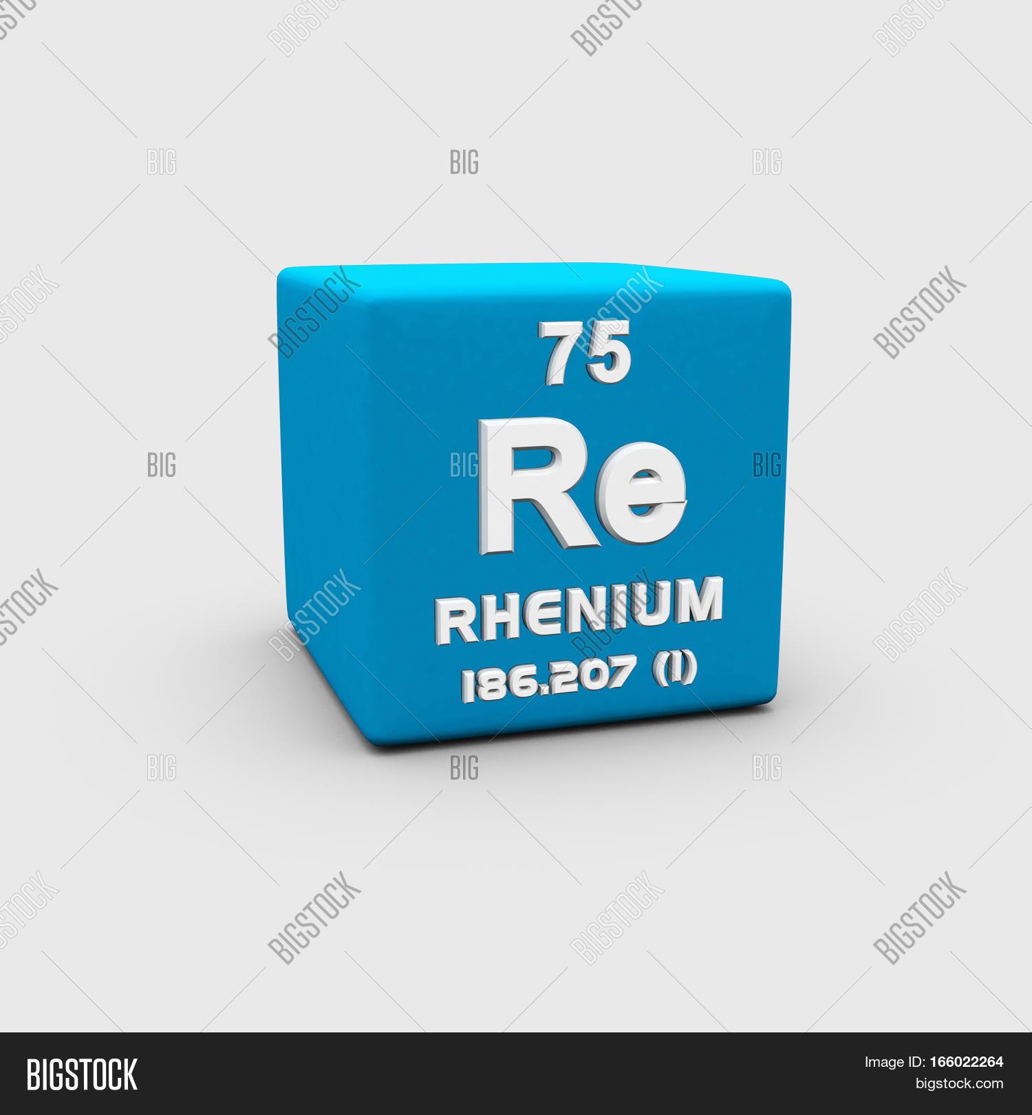 Rhenium Chemical Image Photo Free Trial Bigstock