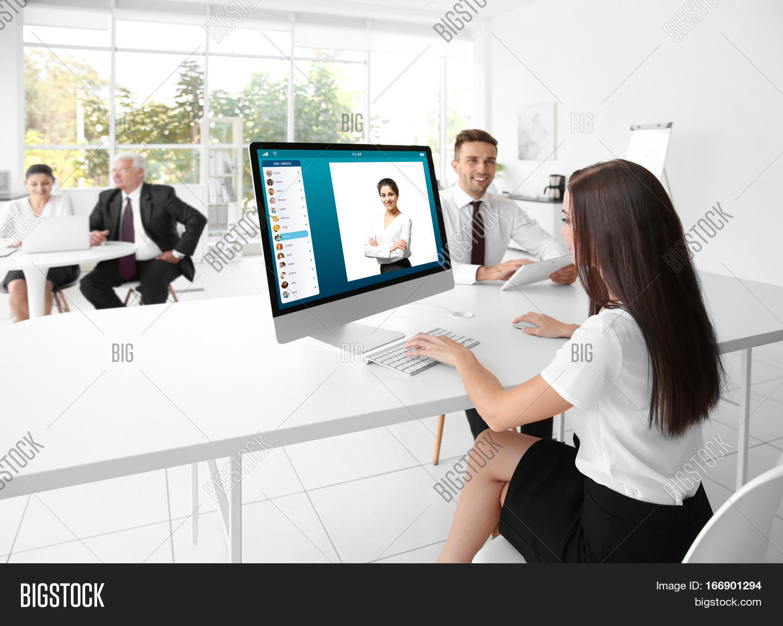 Woman Video Image & Photo (Free Trial) | Bigstock