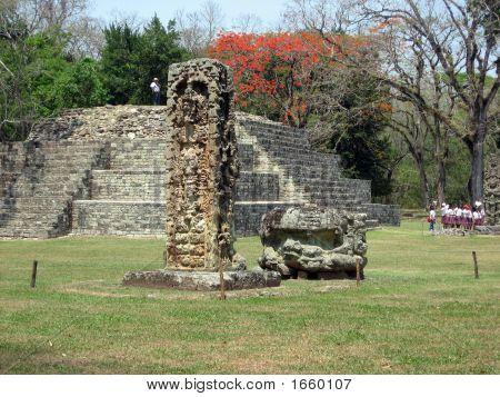 die Ruinen von copan