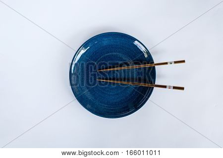 Chopsticks dish prepared for the Japanese people.