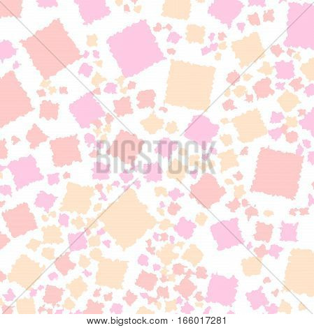 Abstract Background With Flat Blocks. Pattern For Varicolored Concept.