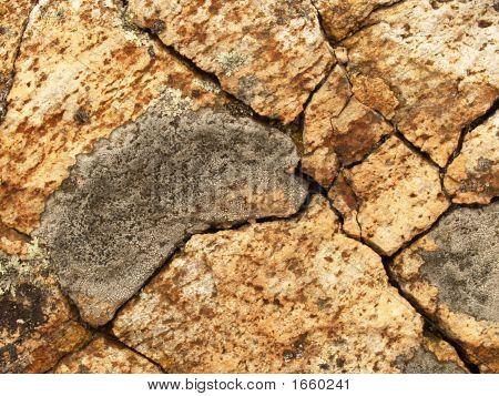 Cracked Rock Pattern