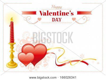 Happy Valentines Day Vector & Photo (Free Trial) | Bigstock