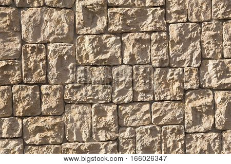 Stone brick wall background and texture for graphic resource