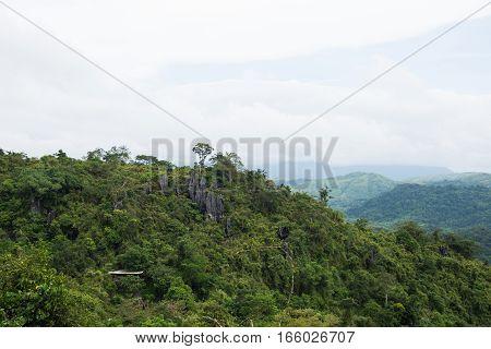 nature scenery in Masungi Reservoir, Rizal, Philippines