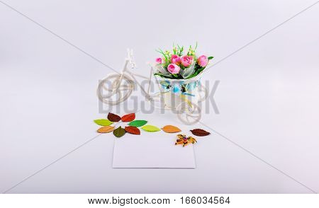 mockup objects isolated on white background with copy space front view
