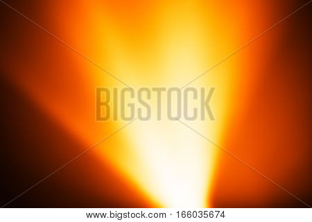 Diagonal orange light leak bokeh background hd