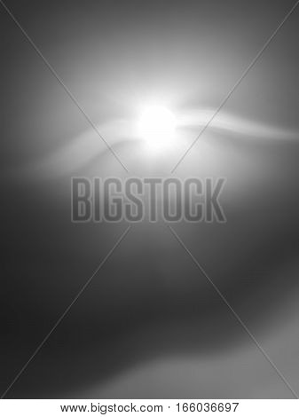 Vertical black and white flying creature bokeh background hd