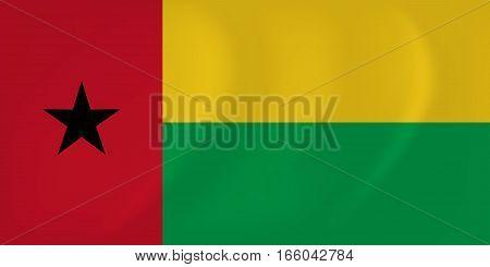 Guinea-bissau Waving Flag