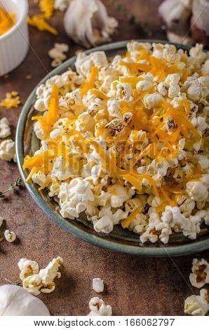 Homemade Cheese Popcorn