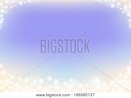 purple fairy tale sparkle abstract background, dreamy glitter sparking bokeh frame background, tender wedding background, vector illustration