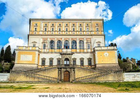 Villa Farnese Caprarola Lazio Viterbo Italy travel