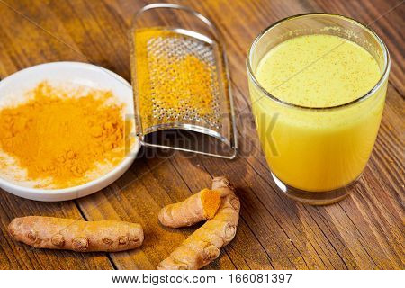 Tumeric Tea Powder Curcumin Plant Powder