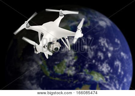 Drone In Space