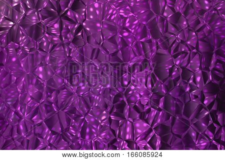 Purple geometric pattern as abstract background.Digitally generated image.