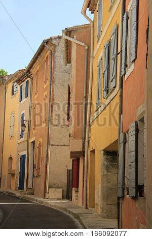 Street view of the Village of Bedoin France