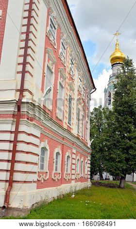 Building of Bishops yard in Vologda Kremlin Russia.