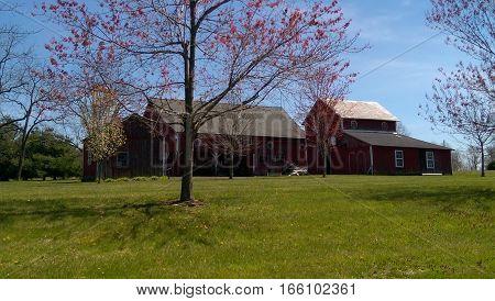 A nice country scene in rural Pennsylvania