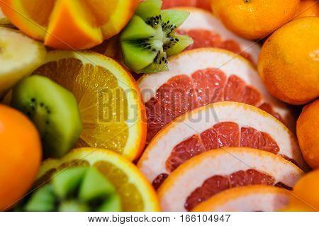 Orange And Grapefruit Rings