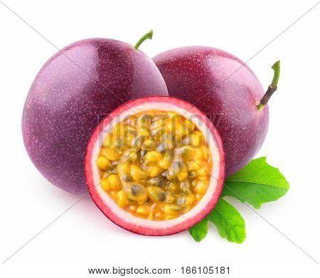 Isolated Maracuya Fruits